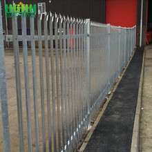 High Security Steel Palisade Fence Panel South Afraic