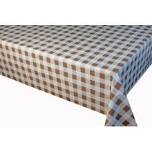 Elegant Tablecloth with Non woven backing Geometric