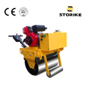 Gehen Sie hinter Benzin Single Drum Small Vibratory Roller