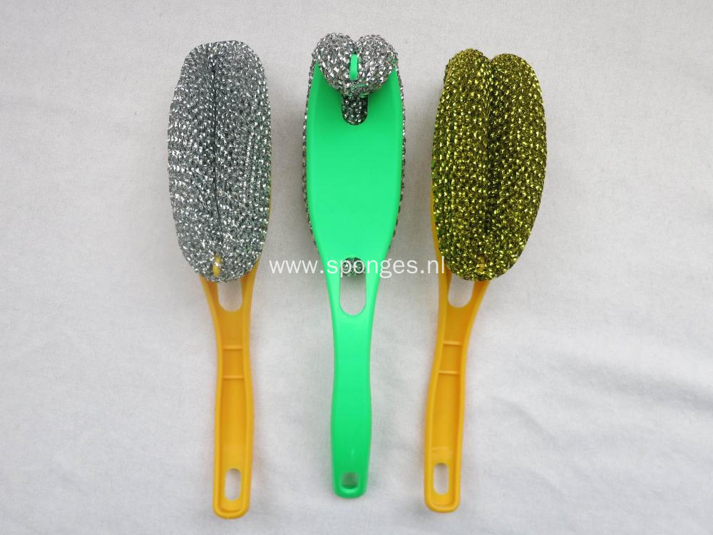 Durable steel wire kitchen cleaning brush