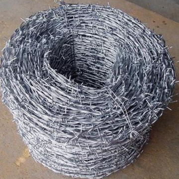 Factory Low Carbon Steel Barbed Wire Per Roll