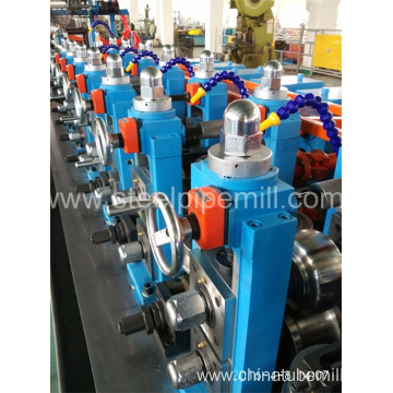 ERW oval pipe making machine