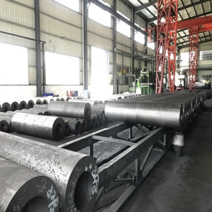 Graphite Electrode HP UHP 400-700 for steel smelting