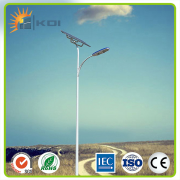Customized height LED solar street light
