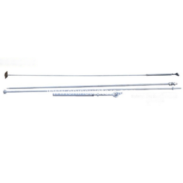 Hot-DIP Galvanized Steel Adjustable Turnbuckle Stay Rod