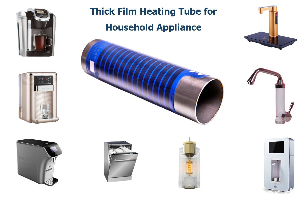 Application of thick film heater