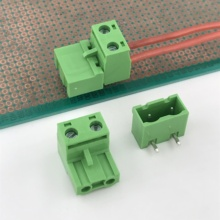 2way connect 7.62mm pitch pluggable terminal block