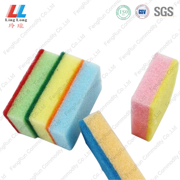 colorful scouring pad