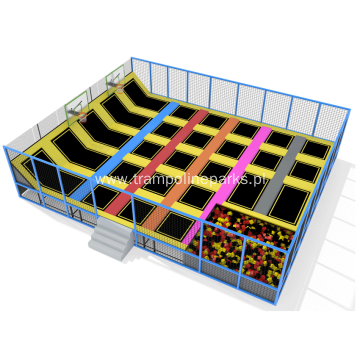 Golden Supplier Indoor Trampoline Park