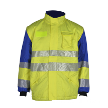 hi visibility safety reflective work wear jacket