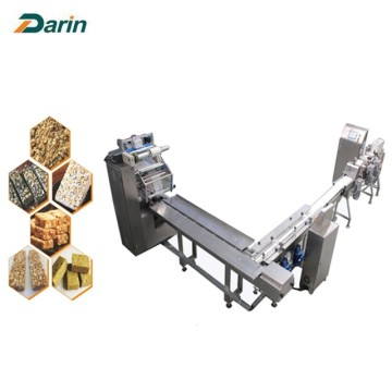 Auto packing mini cereal bar cutting machine
