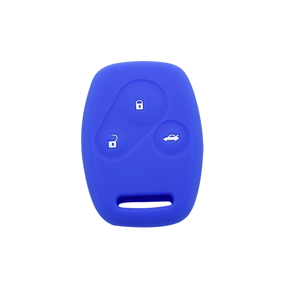 Silicone Gel Honda Logo Car Key Cover