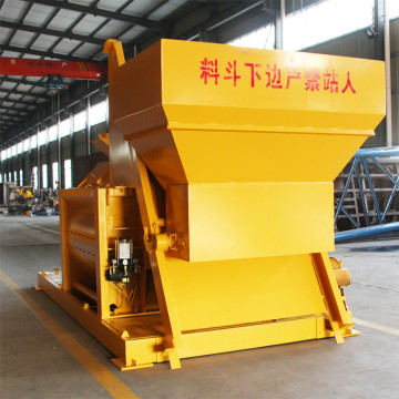 JS1000 pneumatic discharge heavy duty concrete mixer price