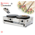 Double Head Crepe Maker Griddle