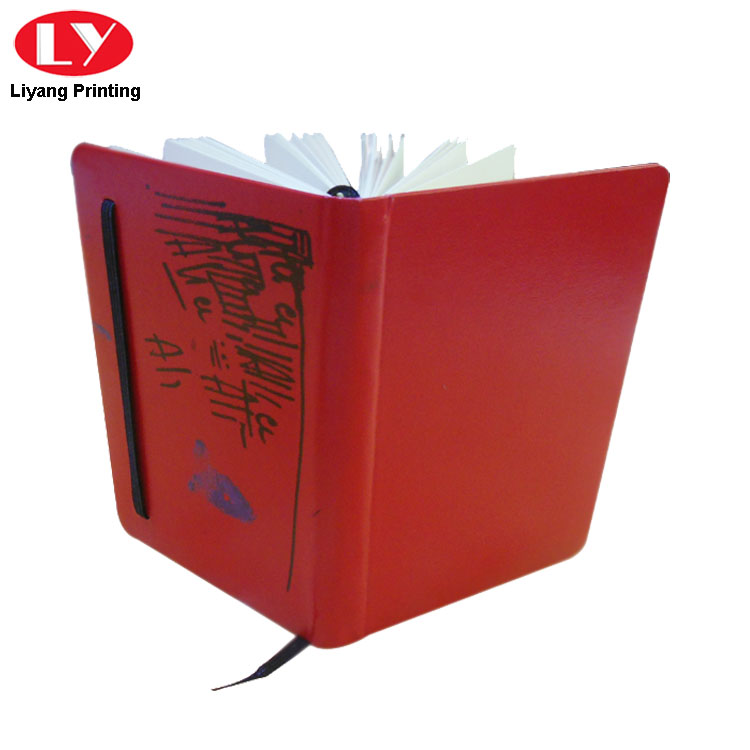 Red Pu Paper Notebooks