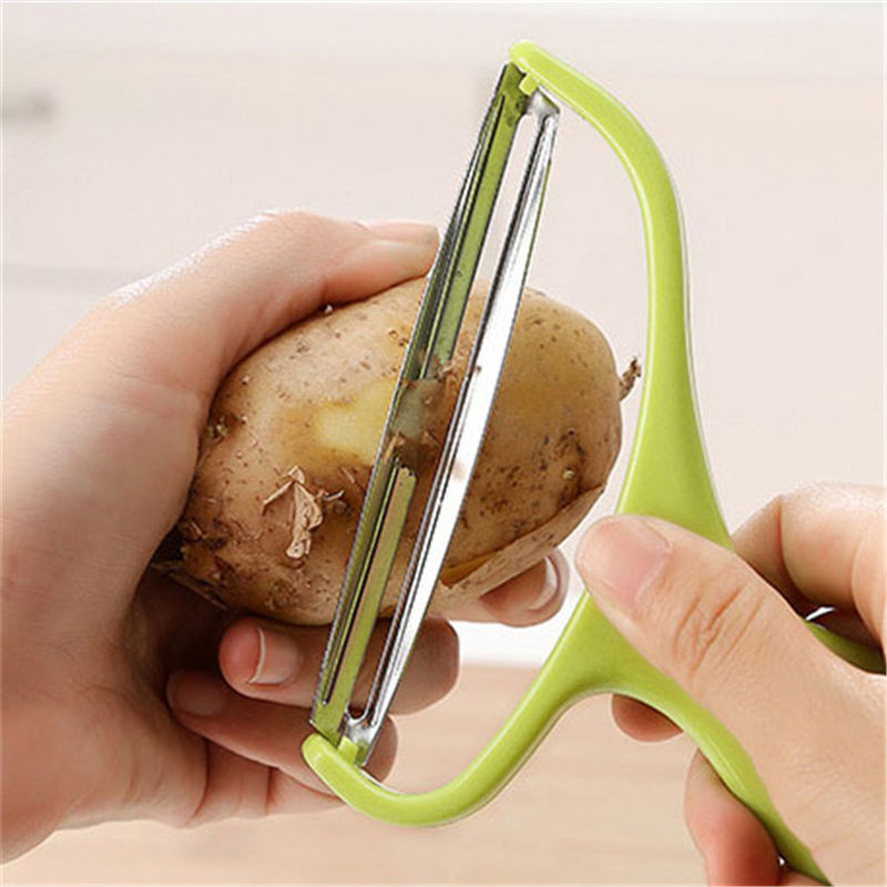 Vacclo Stainless Steel Vegetable Peeler Cabbage Graters Salad Potato Slicer Cutter Fruit Knife Kitchen Accessories Cooking Tools