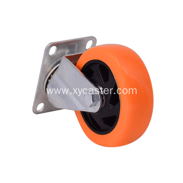 4 Inch Rotating plate caster wheel