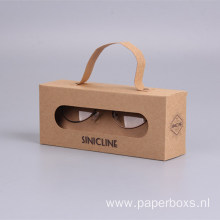 Fashion Design Hot Sale Sunglasses Kraft Paper Box