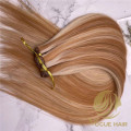 Piano 27/613 top hand tied hair extensions
