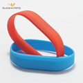 New Design FDA grade silicone material rfid wristbands