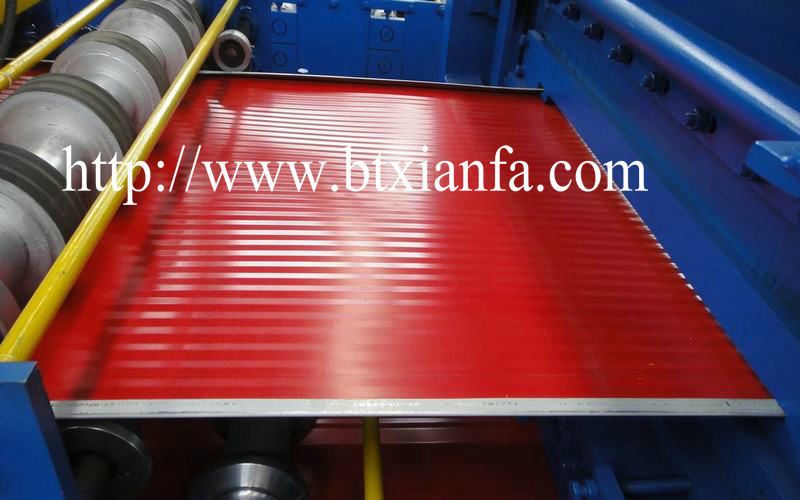 Color Steel Composite Sandwich Board Panel Sheet Machine