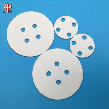 punching drilling aluminum oxide ceramic disc disk roundel