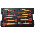 VDE 14pcs open end spanner  and adjustable