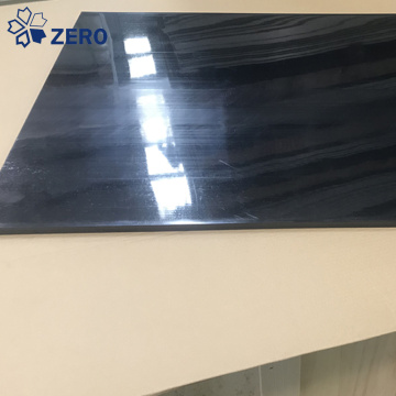 Black PEEK plastic sheet