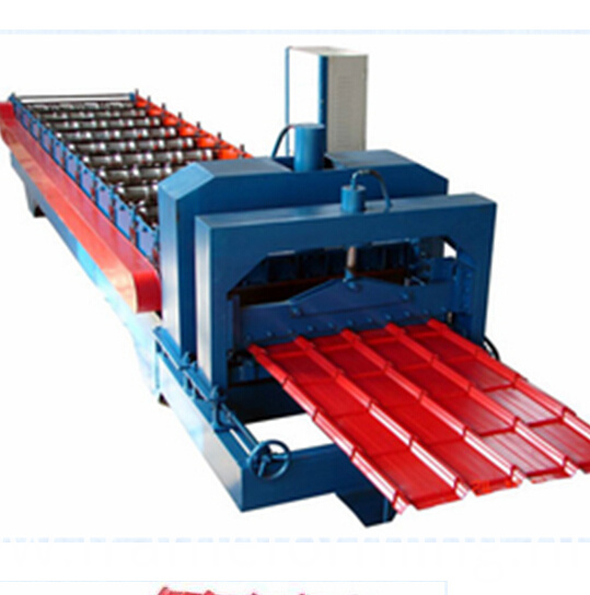 840 glazed tile roofing roll forming machine