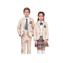 Kids School Uniform Blazer For Private School Uniform