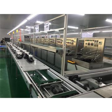 Customized Size Slat Chain Conveyor Assembly Production Line
