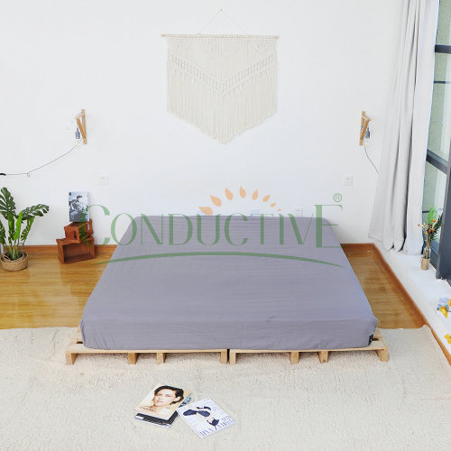 Earthed Antimicrobial Conductive Earthing Fitted Sheet