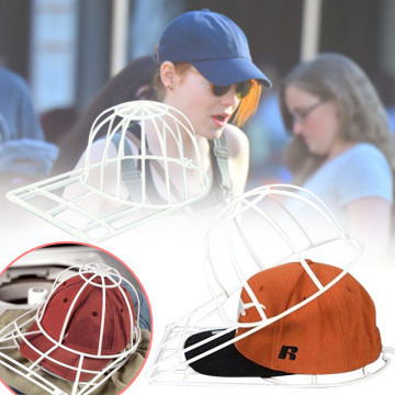 Cleaning Protector Ball Cap Washing Frame Cage Baseball Ball cap Hat Washer Frame Laundry bag for washing Cap Laundry supplies
