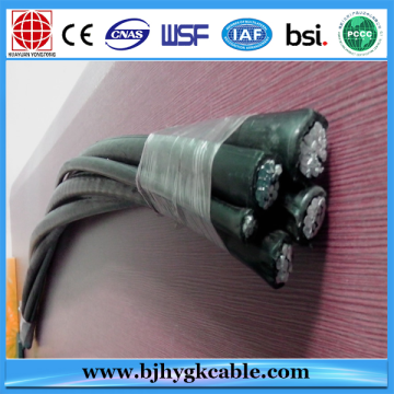 Professional Aluminum Circular Compacted Aerial Insulated Cable