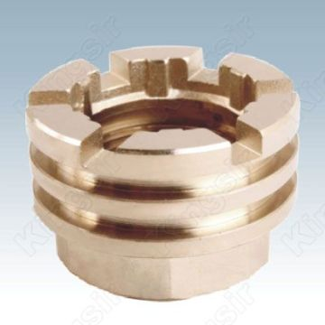 Plated Internal Thread Pipe Fitting