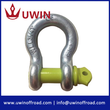 3/4'' 4.75 tons 4wd steel bow ring shackle