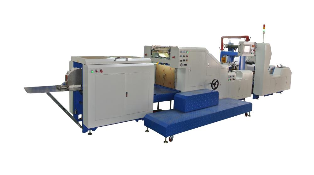 Paper Pouch Making Machine
