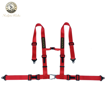 2 Inch 4 point Aircraft Buckle Car Auto Racing Sport Seat Belt Safety Racing Harness K8-4005