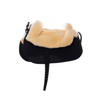 Sheepskin Double Layers Saddle Pad