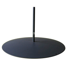 Office Screen Board Base Stand With Round Rod