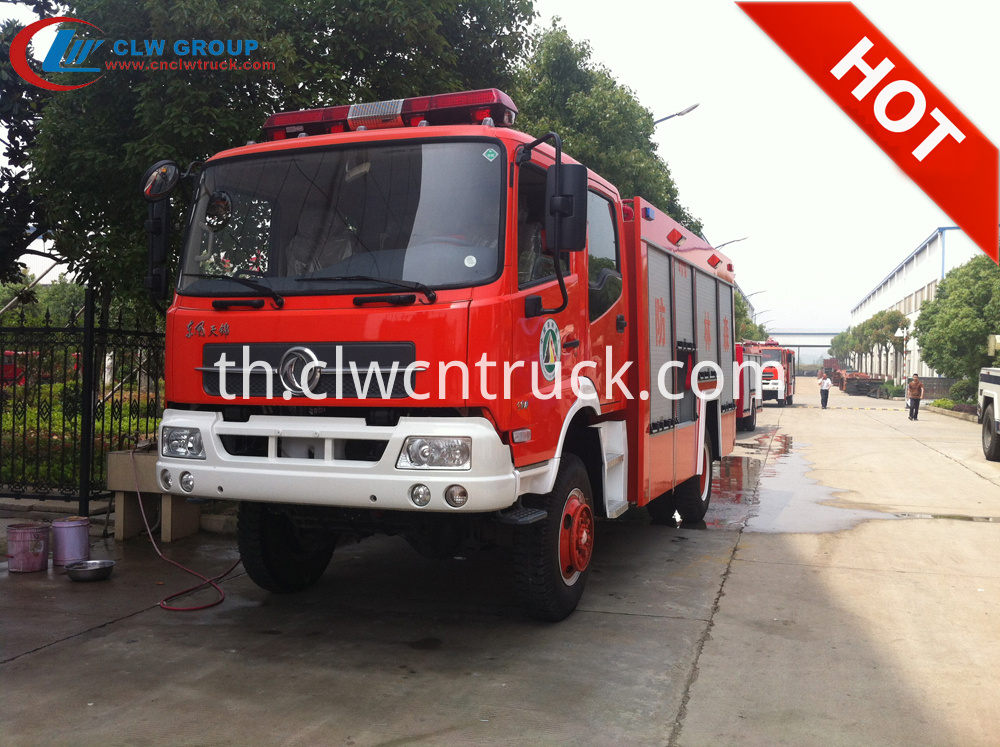 forest firefighting truck 1