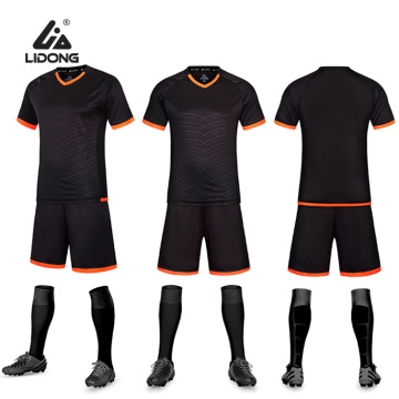Voetbalshirts Sportteam Training Uniform T-shirt + broek