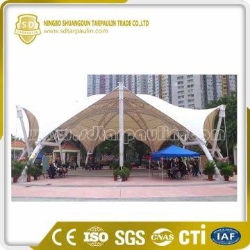 PVC Tarpaulin Fabric For Membrane Structure