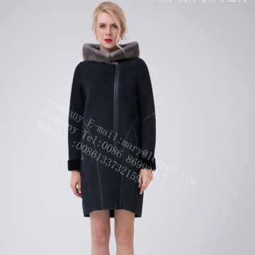 Spain Merino Shearling Jacket For Lady