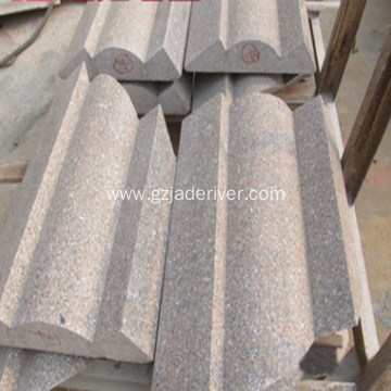 Granite Stone Shaped Strip Natural Decoration Material