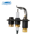 gas stove burner parts/pilot burner/flame sensor