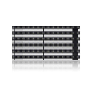 Outdoor high-permeability display screen led grille screen