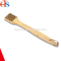 Long Wooden Handle BBQ Grill Cleaning Brush