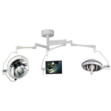 2 bulbs ceiling OT lamp with camera