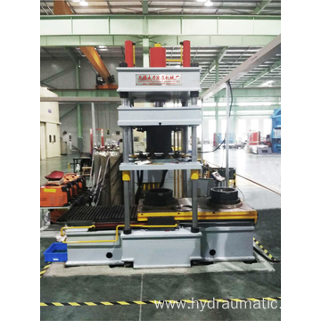 63T Hydraulic Press of Stator Argon Arc Welding